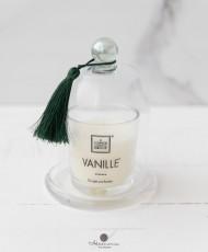 Kvepianti aromatinė žvakė su gaubtu