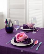 stalo dekoravimui servetėliu ziedai gele