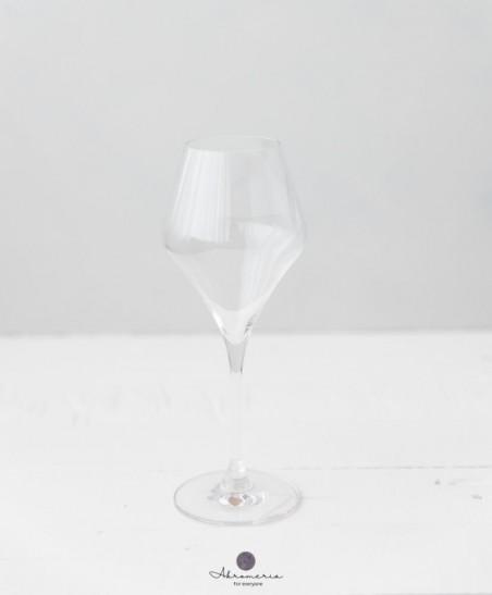 kristalinio stiklo vyno taure