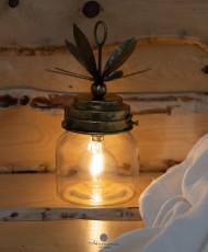 Led dekoratyvinė lempa ananasas