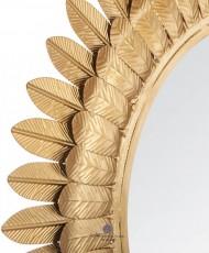 metalinis dekoratyvinis veidrodis
