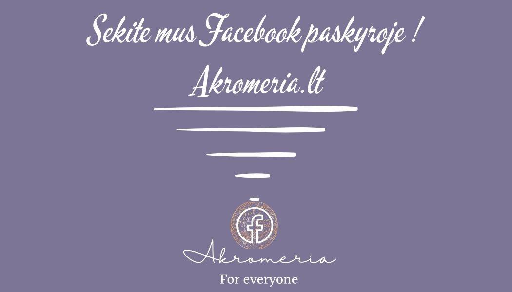 Akromeria facebook